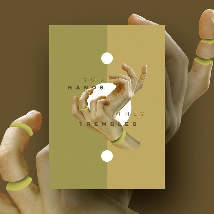 HANDS - poster, music, band, gatherers - vissotto | ello