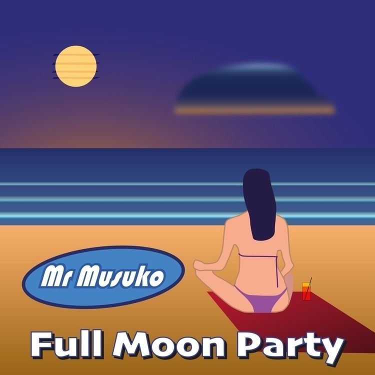album cover track 'Full Moon Pa - mrmusuko | ello
