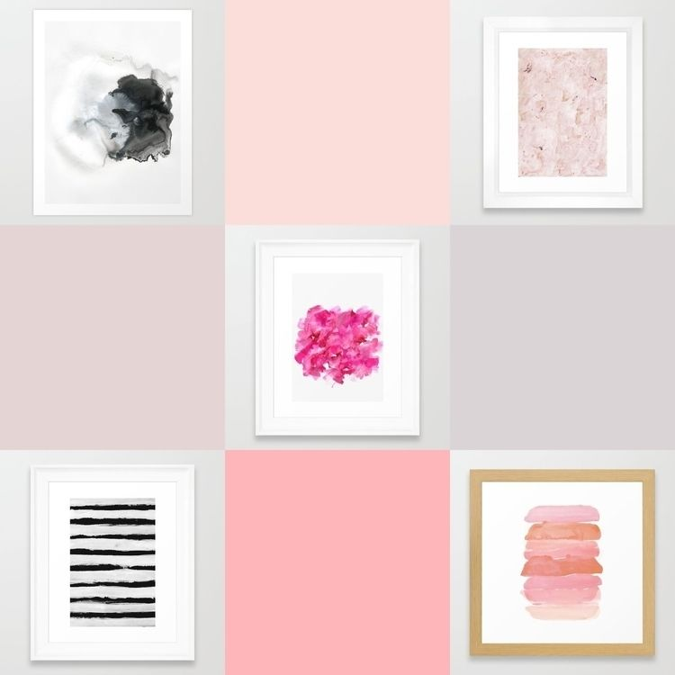 works Prints Framed Society6 - georgianaparaschiv | ello
