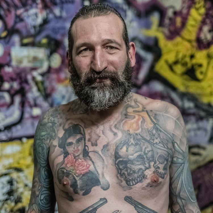 Rodolphe • Montreuil - inked, bearded - jean-fabien | ello