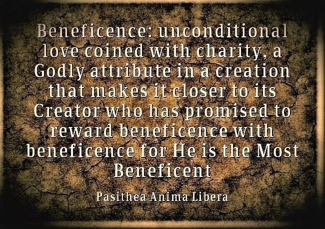 Beneficence unconditional love  - pasitheaanimalibera | ello