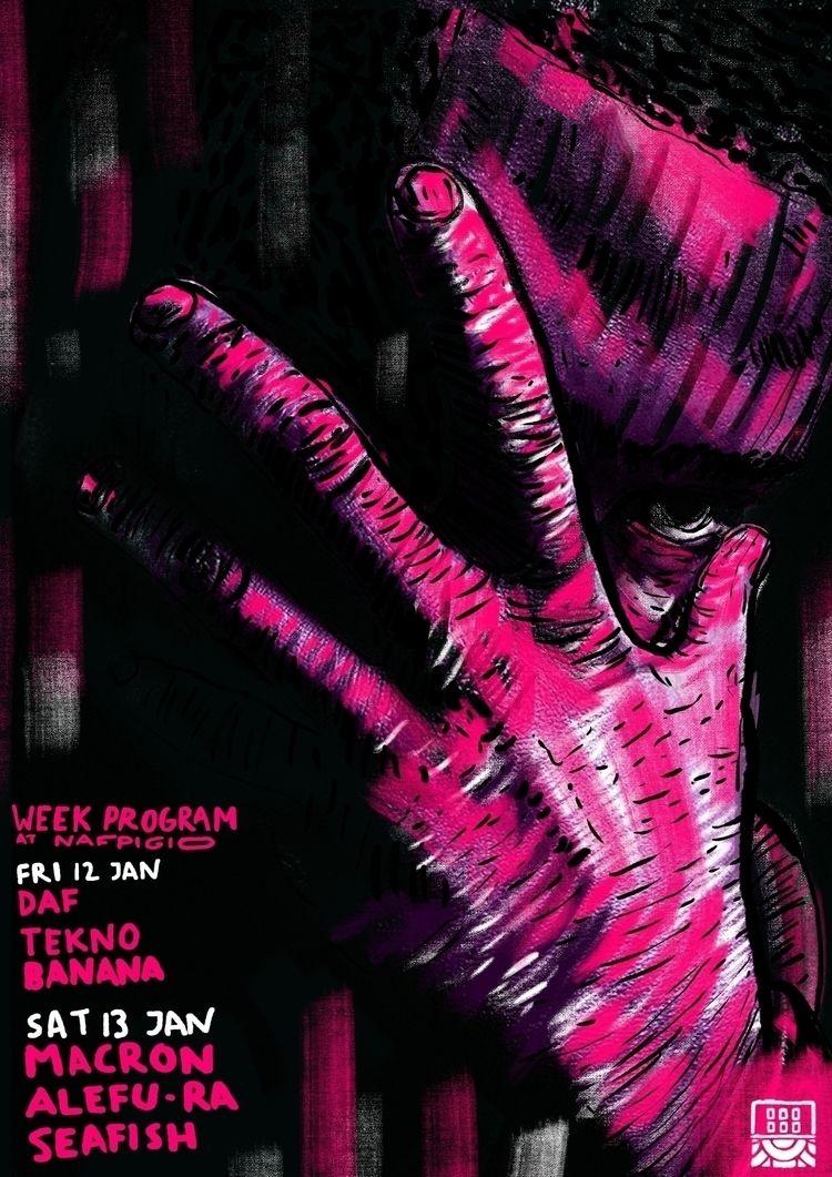 nafpigio, poster, artwork, illustration - nafpigio | ello