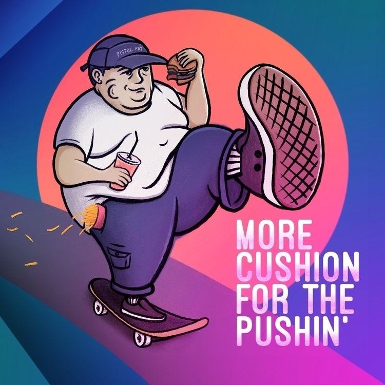 explanatory - Illustration, ThankYouSkateboarding - patsison | ello