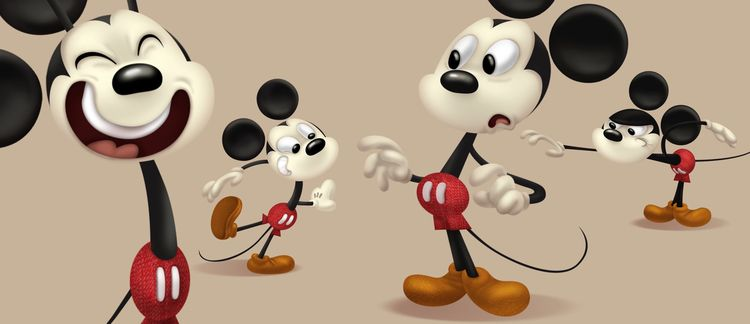Mickey cartoon Disney... artwor - sighjones | ello