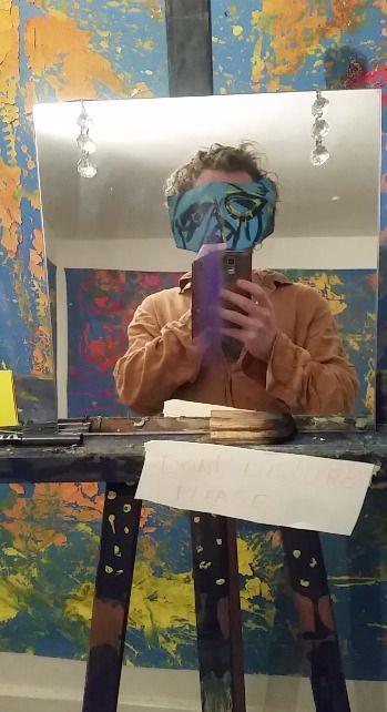 world, masks, painting, magic - vinco-zierowan | ello