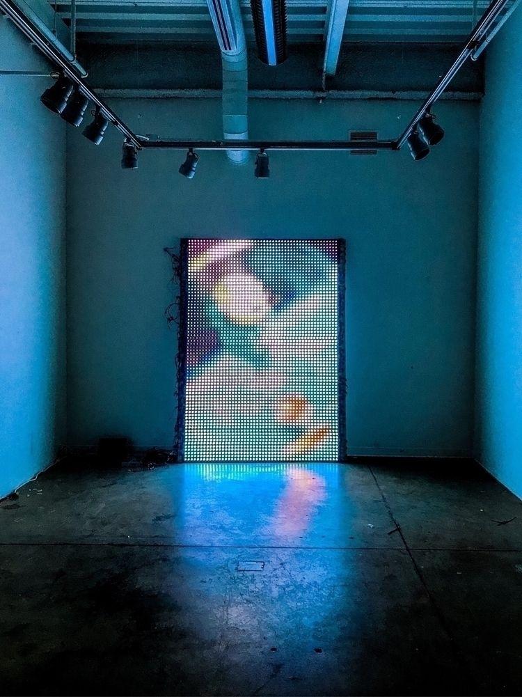generative art installation Geo - reedgriffith | ello