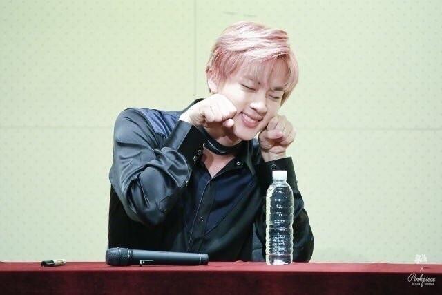 [BTS] KIM SEOKJIN ↳ pink hair.  - jinpics | ello