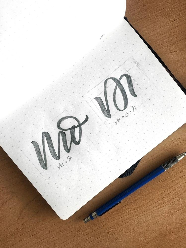 Logo design - lettering, handlettering - chuckchai | ello