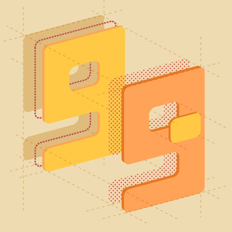 9 - 36daysoftype, 36days_9, exploded - paperback | ello