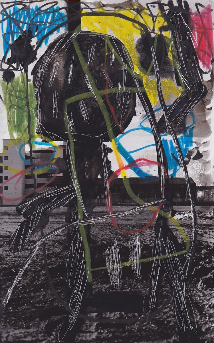 Marcus Bartos, 2017 biest - painting - modernism_is_crap | ello
