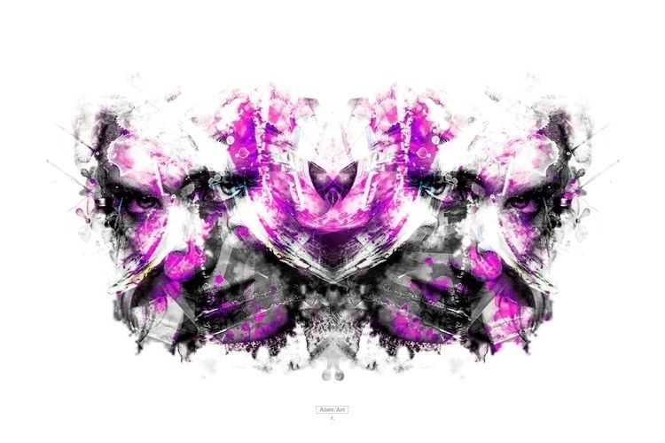 ABSTR/ART COLLECTION - WARRIORS - angelalejandro | ello