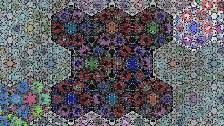 Tessellation Fugue VII variatio - thoskite   ello