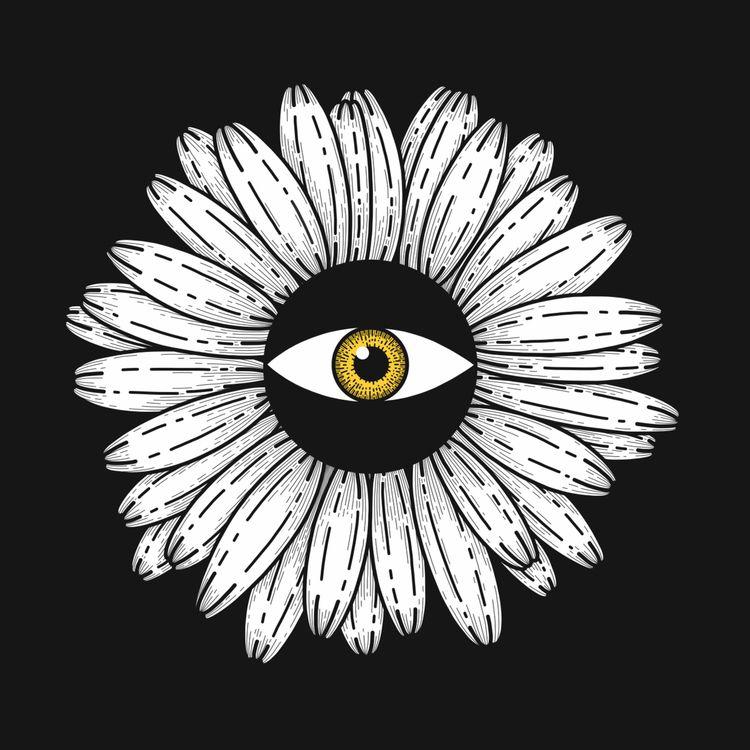 illustration, art, drawing, flowers - alicecquaglia | ello