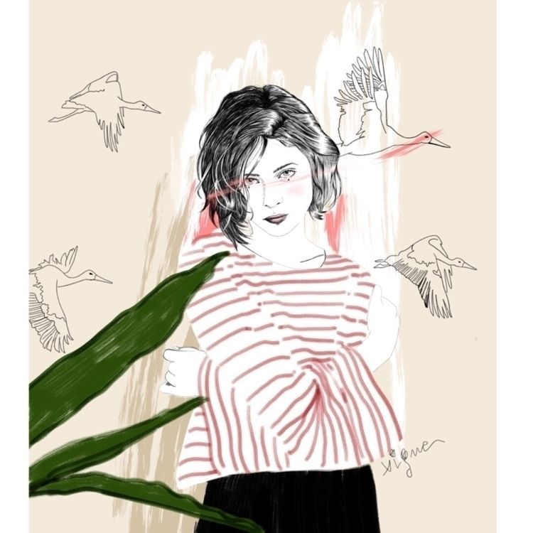 Illustration Rocio Vigne - art, artist - rociovigne | ello