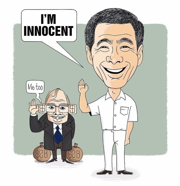 caricature, satire, humour, cartoon - paulchoo   ello