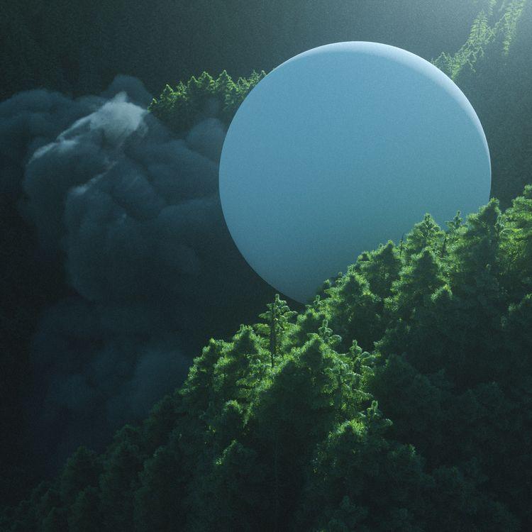 WHITE WONDERLAND  - 3d, design, cinema4d - liaam | ello