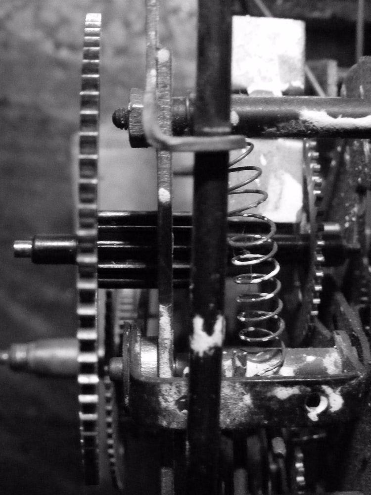 gears.  - texture, experience, black - _axl | ello