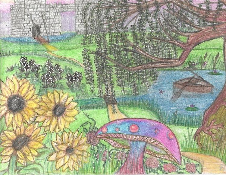 Fantasy 2016 Colored Pencil - acemeadowwolf | ello