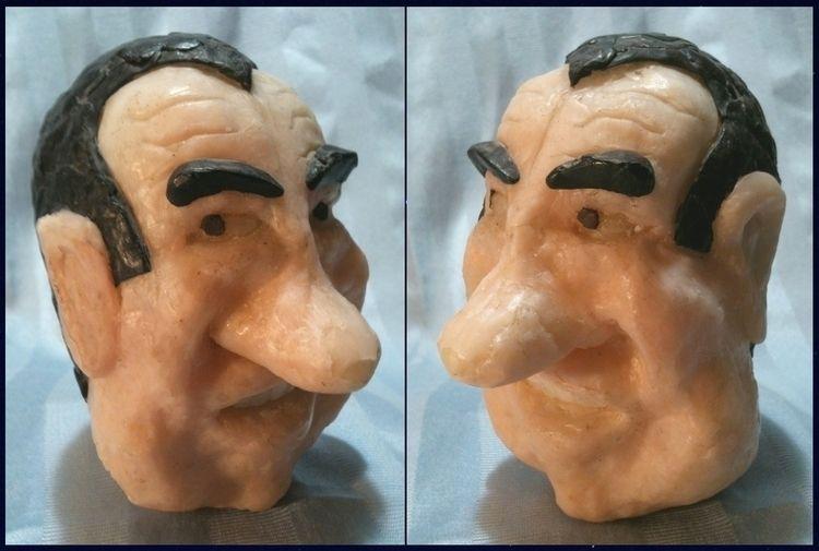 Wax Nixon. wax caricature Presi - ccruzme | ello