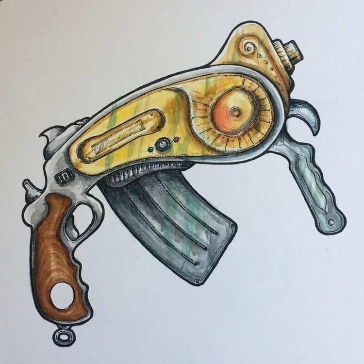 AIR-120 Semi-automatic Pistol G - mydoghasnonose | ello