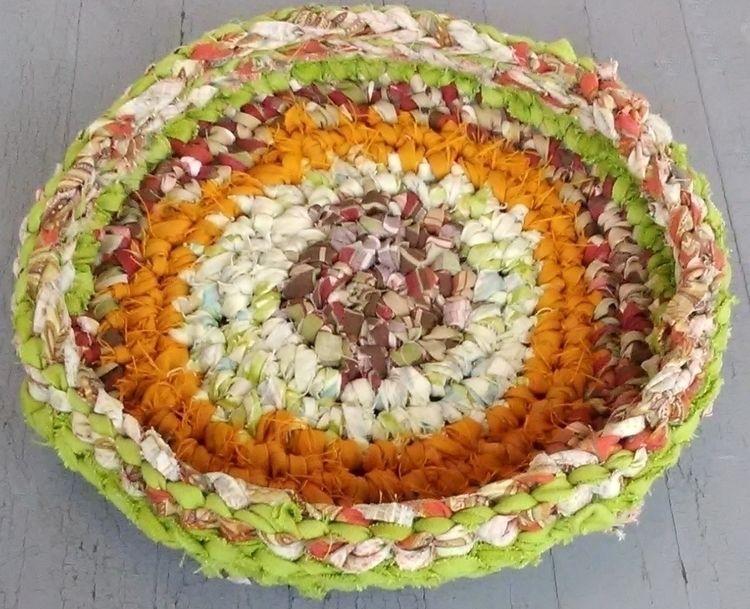 Cat Bed Handmade Crochet Rag 19 - maryherrigfiberarts | ello