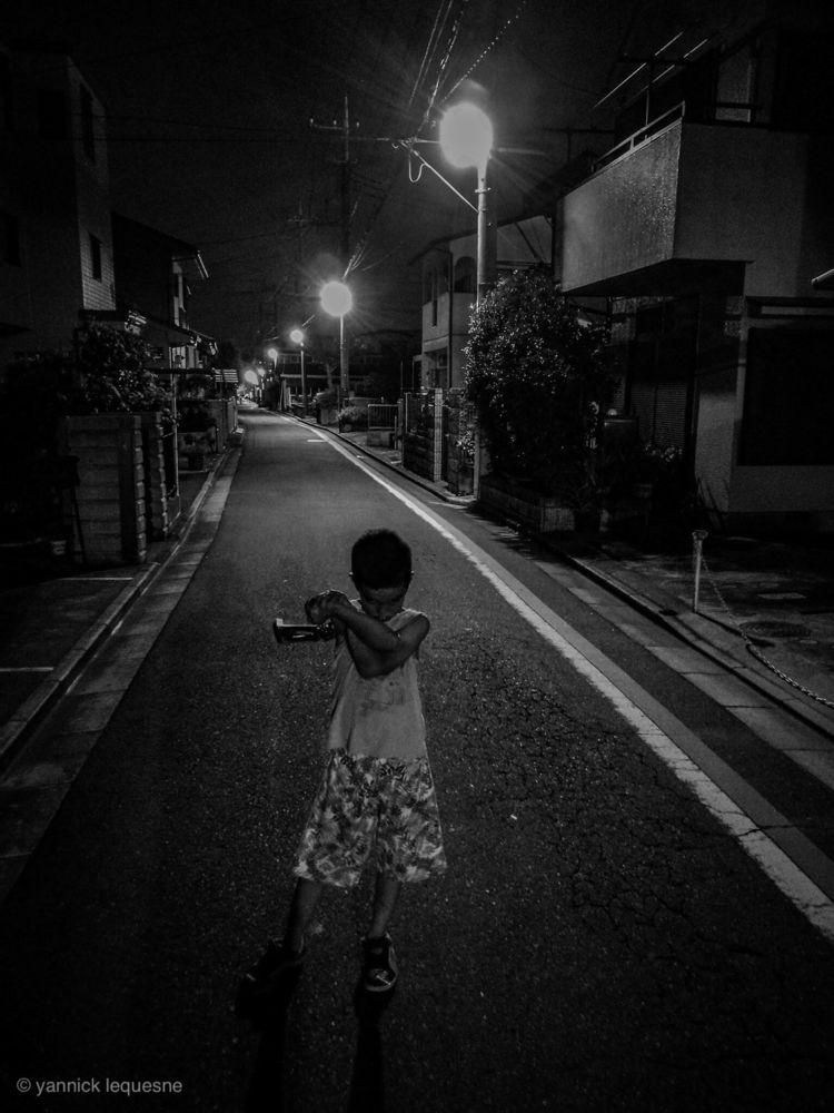 night walk. Tokorozawa, Japan - blindeffect | ello