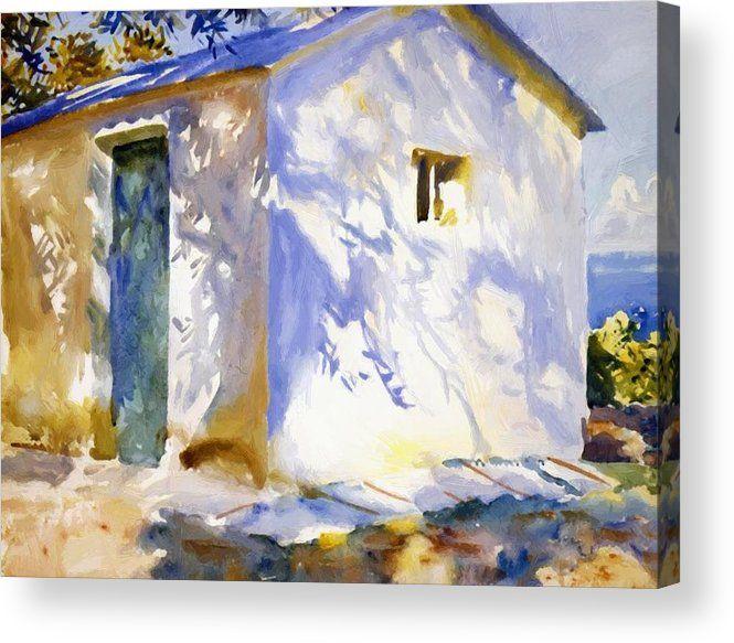 Corfu Lights Shadows 1909 Acryl - pixbreak   ello