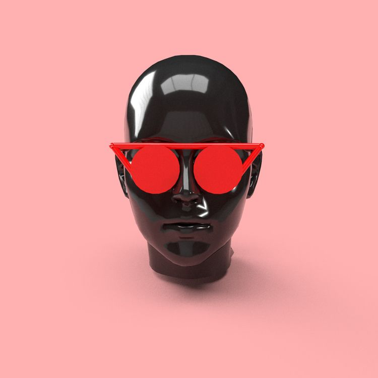 Designed glasses VR night. 3D p - lucian | ello
