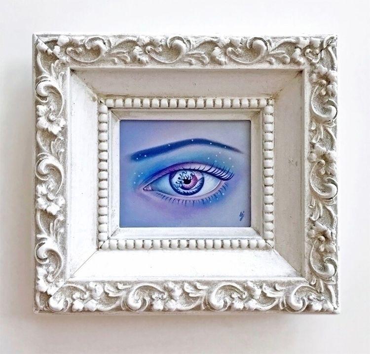 """Siren Call"" vintage frame eyes - carolinaseth | ello"