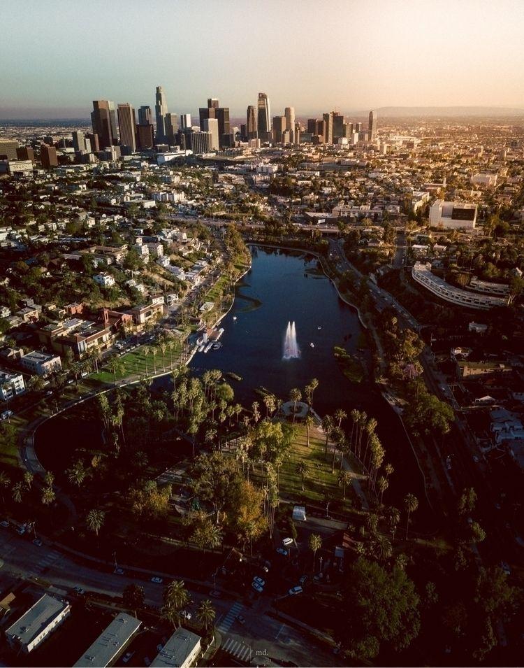 Echo Park, LA - dronephotography - fraudfix | ello