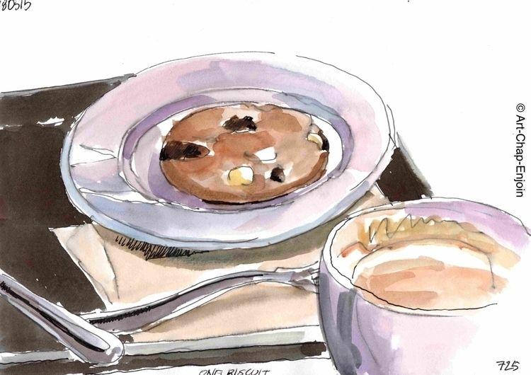 725 - biscuit sketch Doodlewash - artchapenjoin   ello