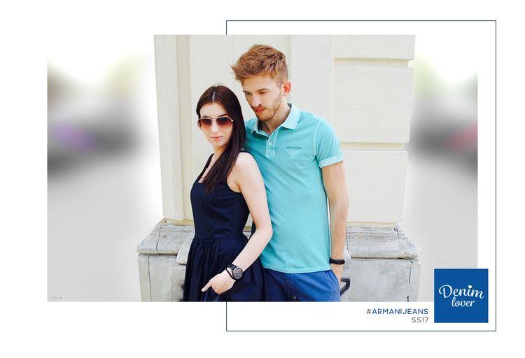 Armani Jeans SS17 - outtake - pmjm | ello