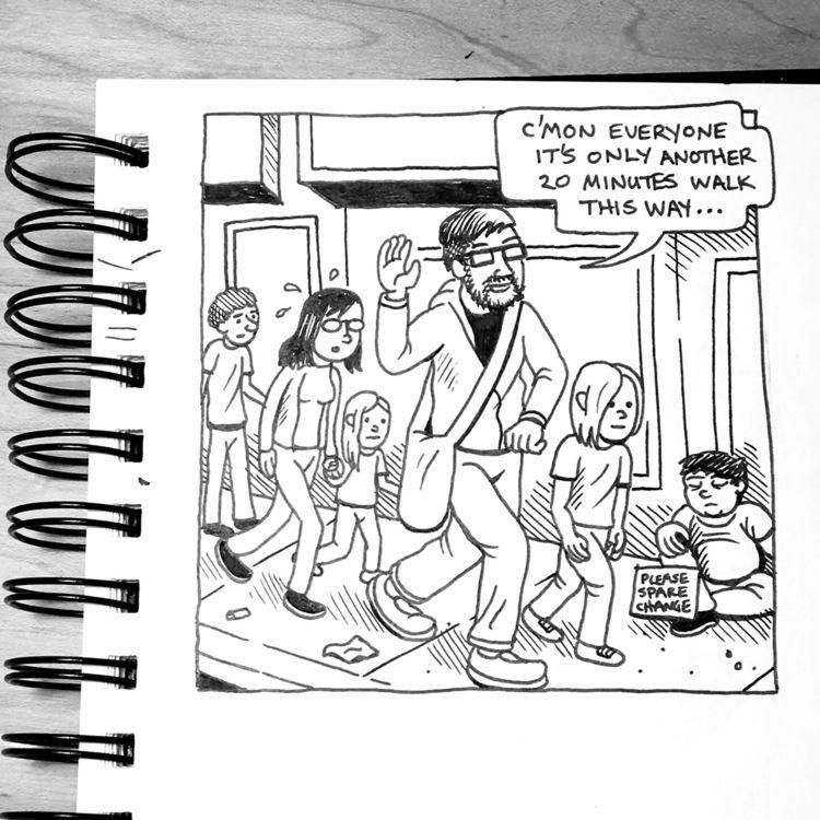 Drawn visit Toronto Comic Arts  - awcomix | ello