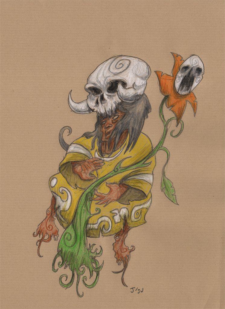 Shaman necromancer life  - dead - jju | ello