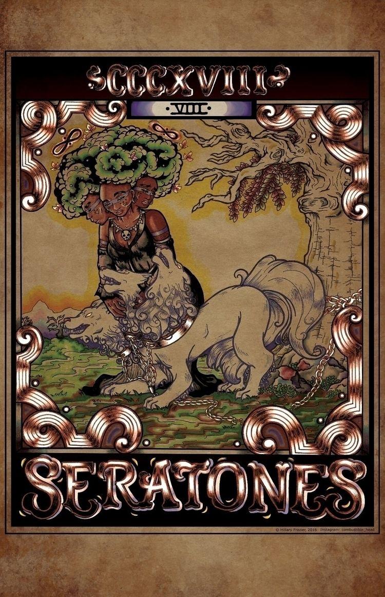 Seratones Band Poster; Marker I - hfrazier | ello