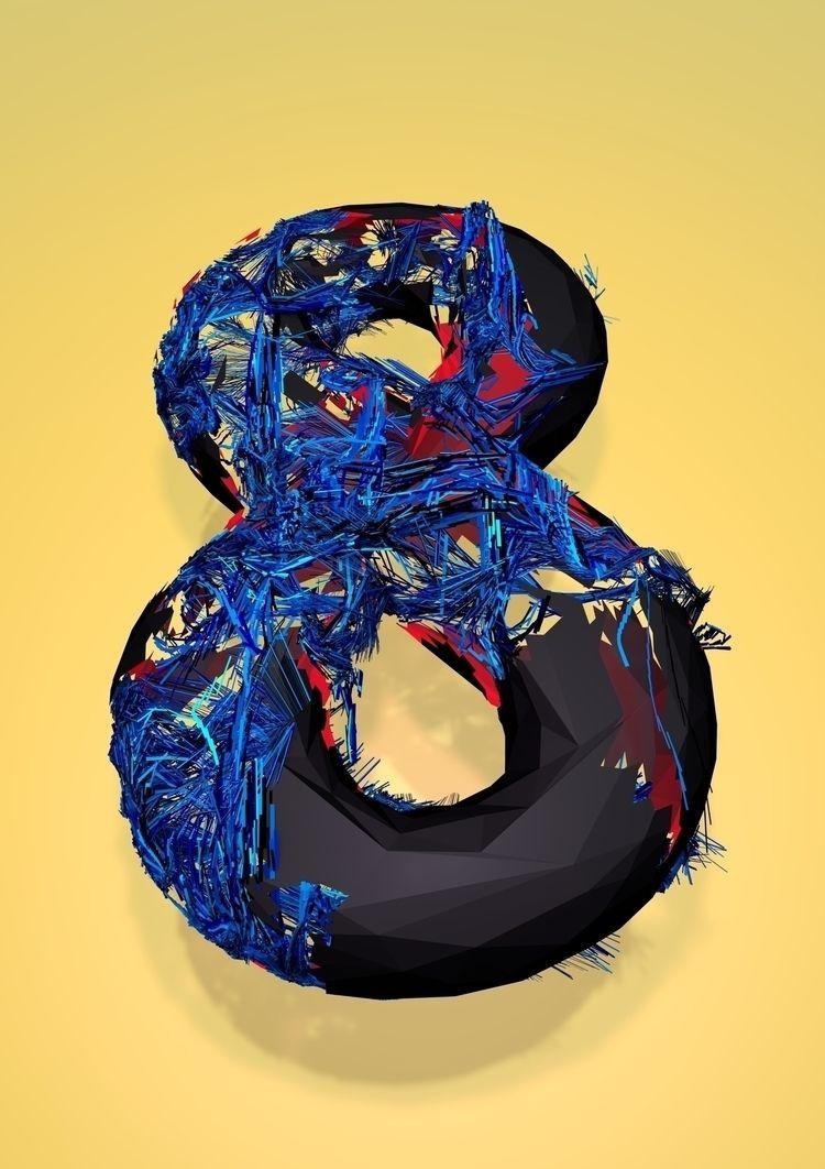 3D, 36daysoftype - satcy   ello