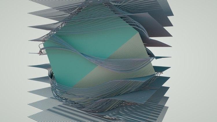openframeworks, 3D, octanerender - satcy | ello
