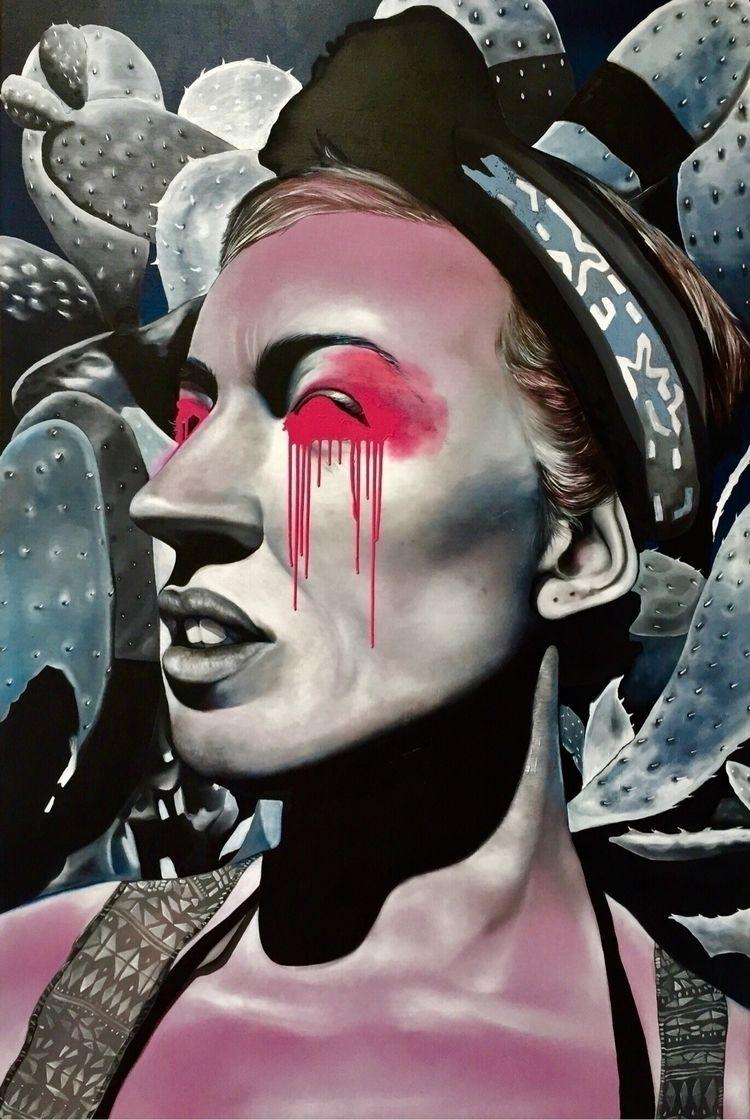 works - oiloncanvas, painting - fede_poletti | ello