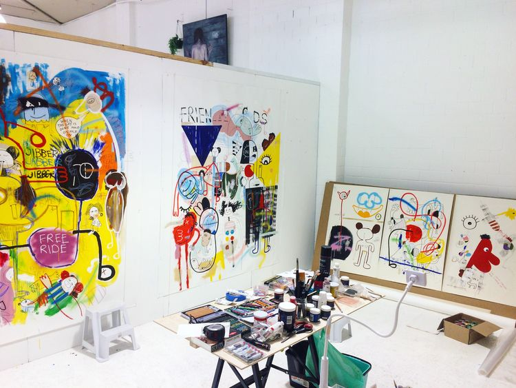 Peek Inside the Artist's Studio
