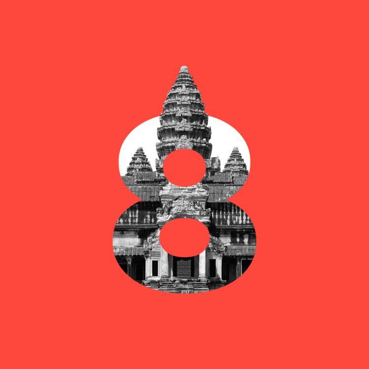 Divine Type: Angkor Wat  - 8, 36daysoftype - neuta | ello