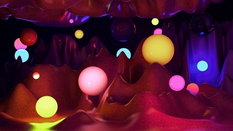 Cave Wishes - ello, design, digitalart - cadenascarlo | ello