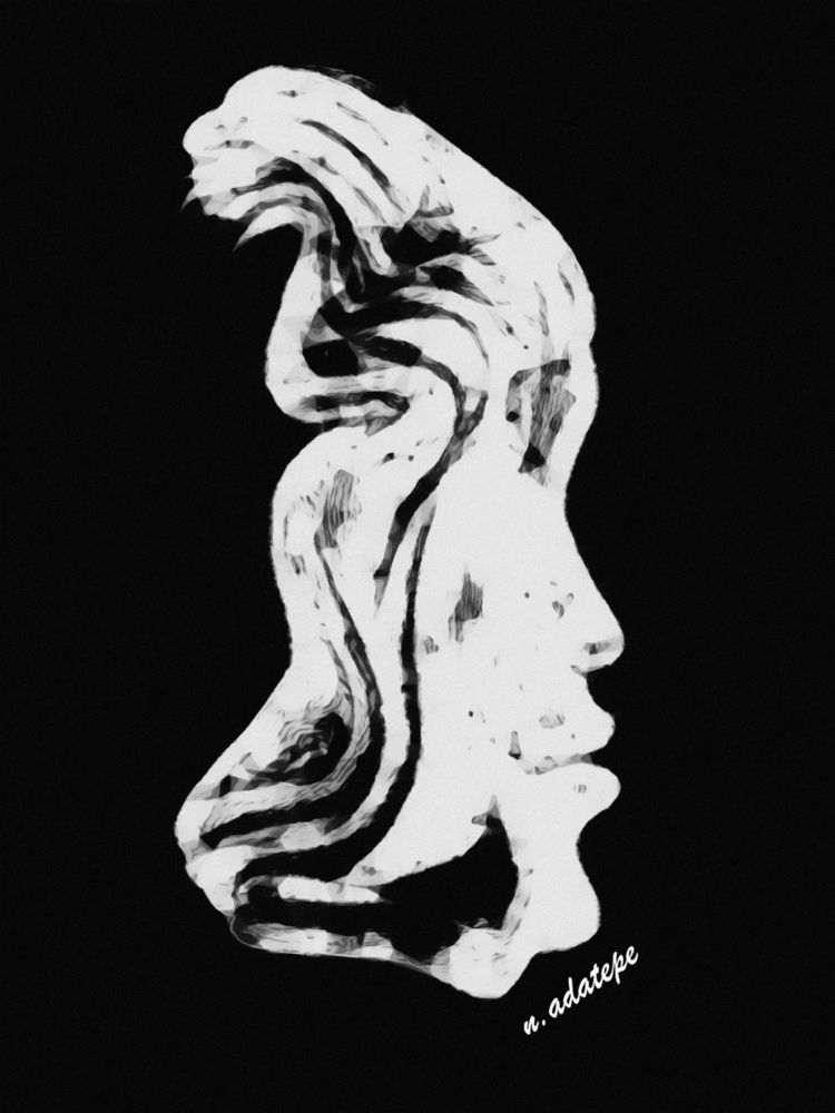 art, digital, charcoal, blackandwhite - nadatepe | ello