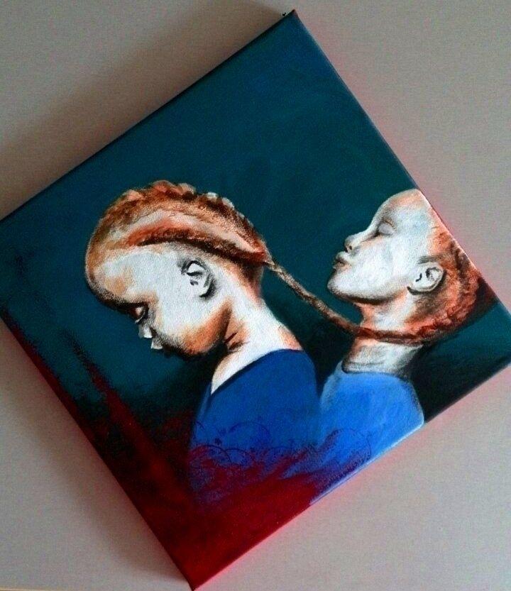 Eternal bond (acrylics canvas - ello - katharinawozny | ello