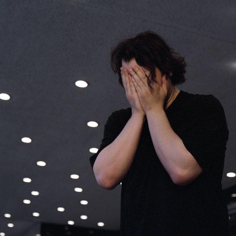 Crying Man IV  - ello, elloanalog - alaskapalms | ello