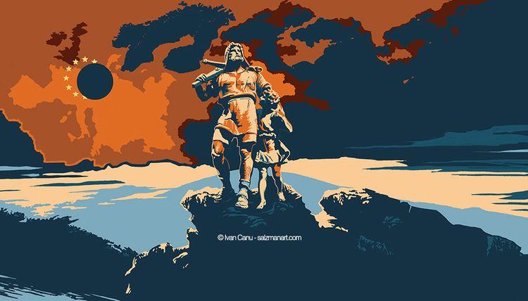 Illustration Swiss magazine Die - canuivan | ello