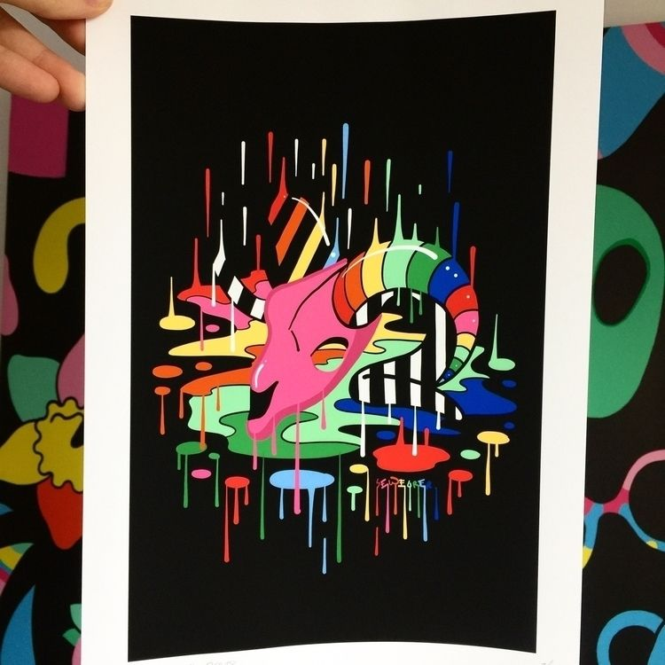 Rainbow Heaven Giclee Print 201 - ms_wearer | ello