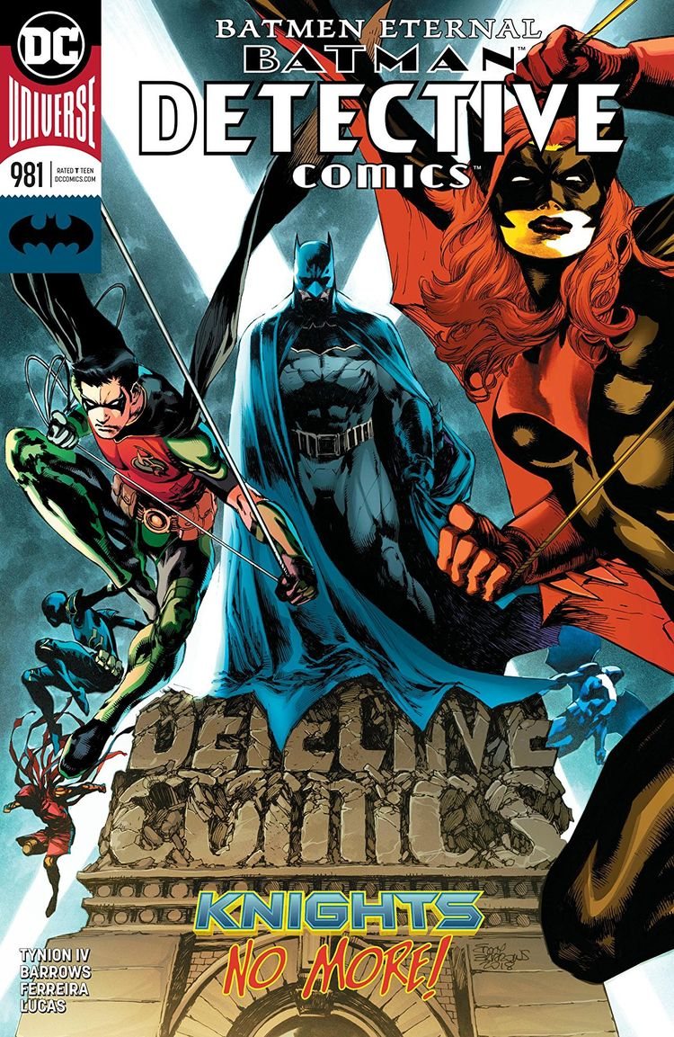 Detective Comics Review unbelie - comicbuzz | ello