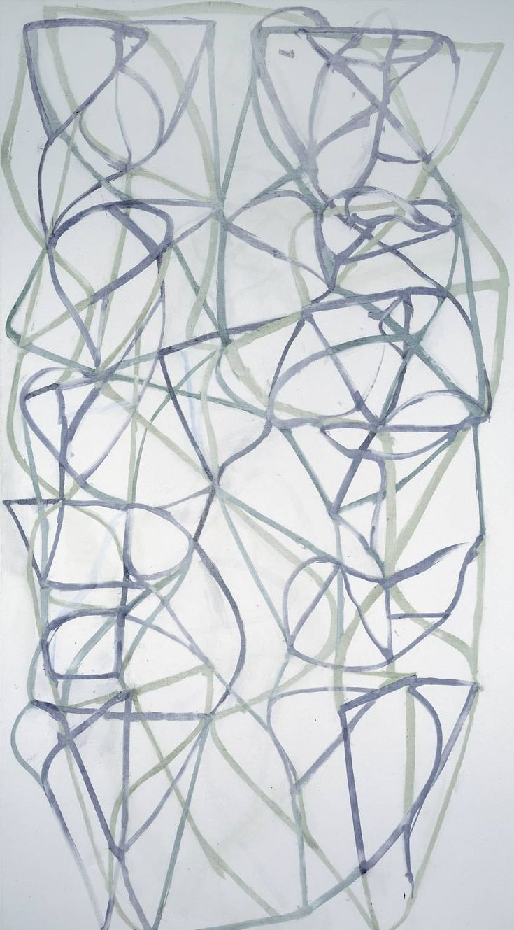 archive - brice marden - bluevertical | ello