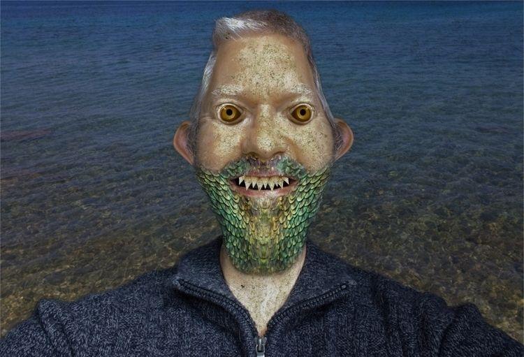dragon beard - face, affinity, affinityphoto - shaundunmall | ello