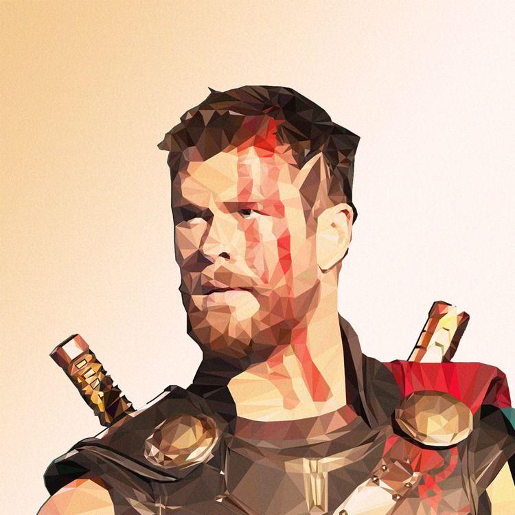 God Thunder - digitalart, illustration - emirhamzah   ello